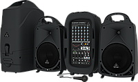Звуковой комплект Behringer EUROPORT PPA2000BT
