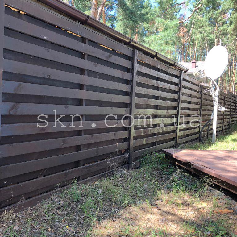 Забор из импрегнированной сосны Техас