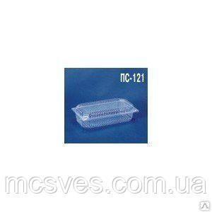 Блистерный одноразовий контейнер ПС-121 (1300 мл) 230х130х72