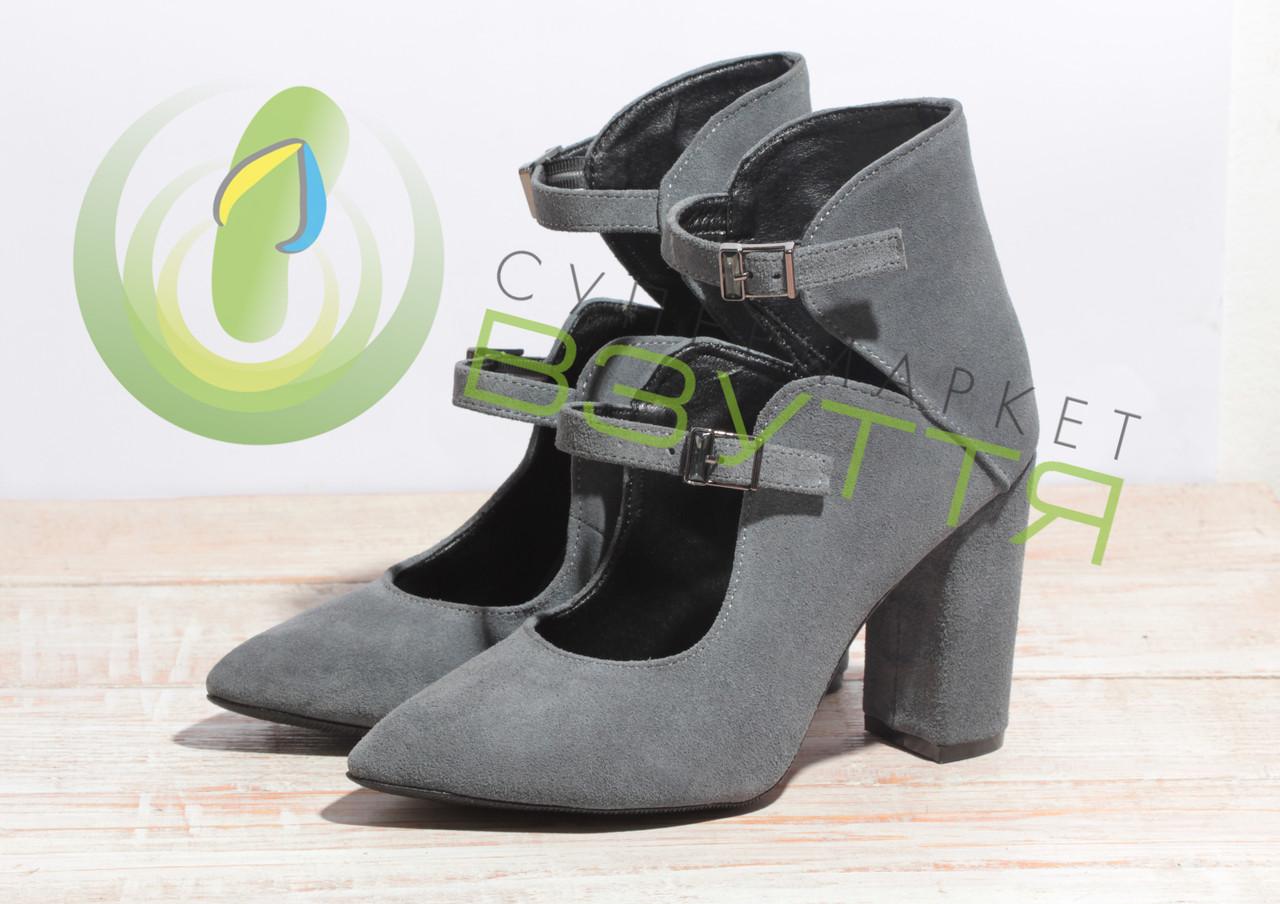 Туфлі жіночі замшеві Ando & Borteggi 157 с-з 37,38, 39 розміри