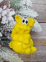 Необычное мыло Свинья, ручная работа. Вес 250 г. Эксклюзивный подарок к новому году любимым и родным