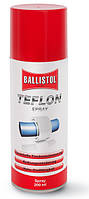 Смазка для оружия Klever Ballistol (баллистол) Тефлон PTFE (Teflon Spray) 200 мл (спрей)