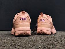 Женские кроссовки Fila Disruptor II Purple (Реплика ААА класса), фото 3 7ace27aa78e