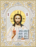 Набор вышивки бисером на атласе Господь Вседержитель