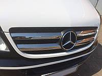 Mercedes Sprinter W906 (2006-/2013-) Накладки на решетку радиатора 4шт