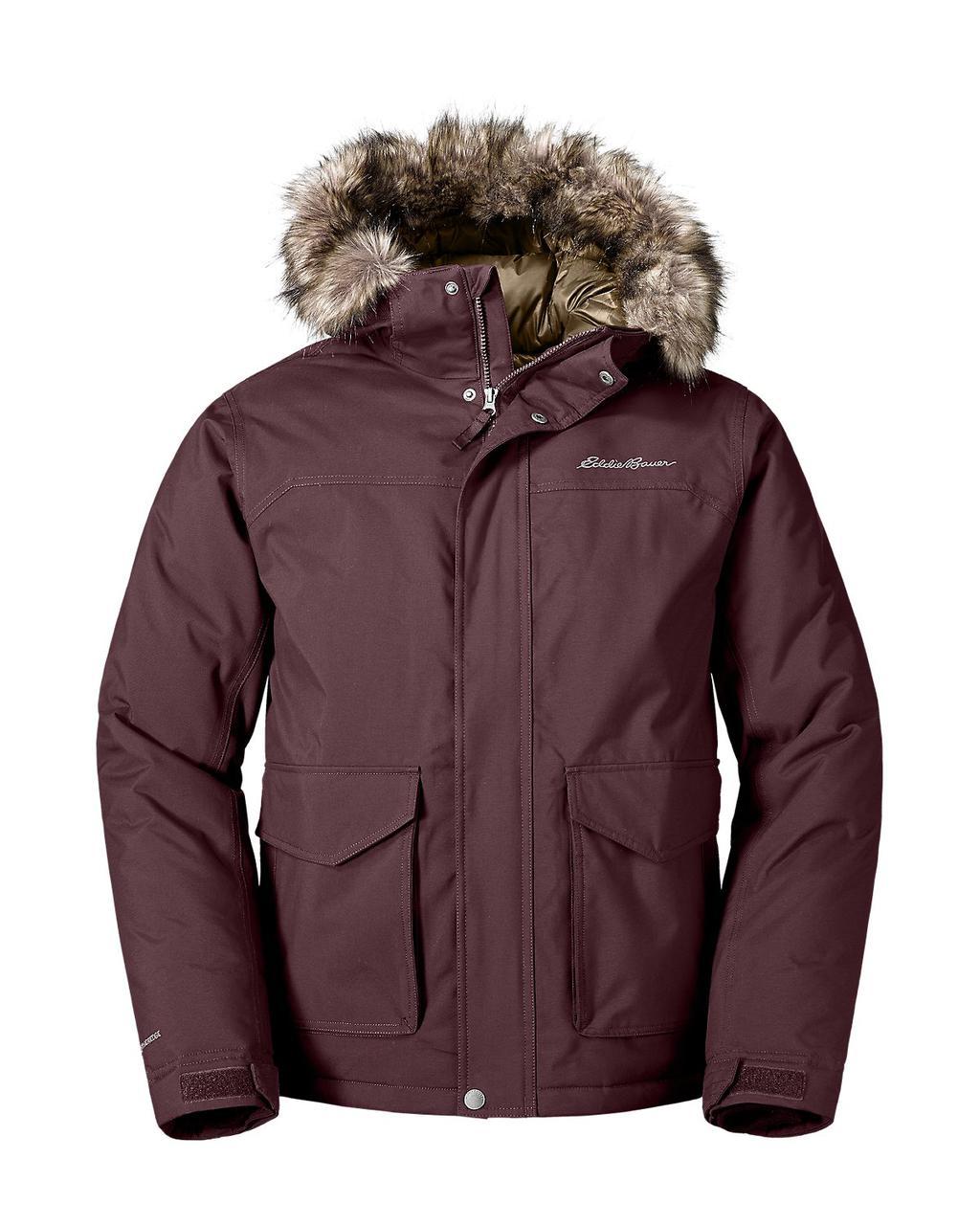 Куртка Eddie Bauer Mens Superior Down II Jacket DK GARNET
