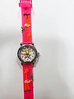 Часы детские Жираф Розовый