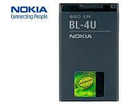 Батарея (акб, аккумулятор) BL-4U для телефонов Nokia, 1000 mAh, оригинал