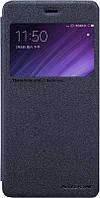 Чехол-книжка Nillkin Sparkle case Xiaomi Redmi 4 Black, фото 1