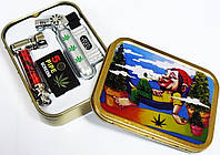 Набор для курения 3в1 Зажигалка,Трубка,Сетки