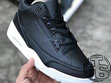 Чоловічі кросівки Air Jordan 3 Retro Cyber Monday Black/White 136064-020, фото 2