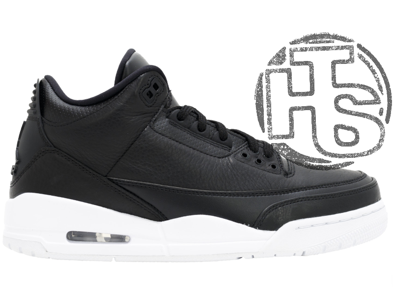 Мужские Кроссовки Air Jordan 3 Retro Cyber Monday Black White 136064-020 43  — в Категории