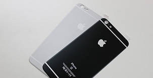 Захисне скло 4D Metal Back для iPhone 6 Plus (на задню кришку), фото 2