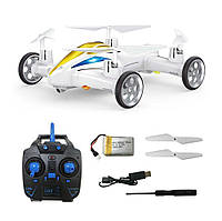 Квадрокоптер-мошинка  Remote Control Helicopter & Flying Car Drone XX8 2.4G Белый  GB/T 26701-2011