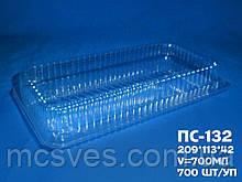 Одноразова упаковка блістерна ПС-132 (550 мл) 209х1120х42