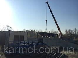 Бетоносмесительная установка БСУ-40К г.Черновцы Хмельницкая обл.