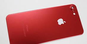 Защитное стекло 4D Metal Back для iPhone 7 (на заднюю крышку), фото 2