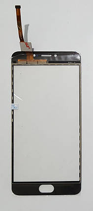 Сенсор (тачскрін) для Meizu M3 Note M681H/M681Q/M681C original білий, фото 2
