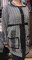 Женский кардиган большого размера до 68, фото 1