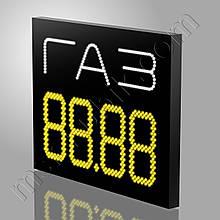 Светодиодное ценовое табло для АГЗС 1000х750