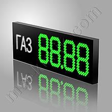 Светодиодный ценник для газовой заправки 1100х350