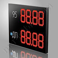 Светодиодное табло для мини АЗС 1100х800