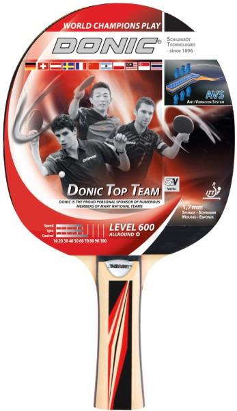 Ракетка для настільного тенісу Donic Top Team 600
