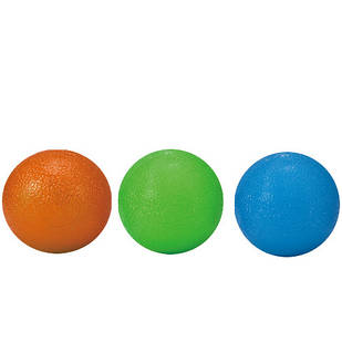 М'ячики-тренажери для кисті LiveUp GRIP BALL, 3 шт., LS3311