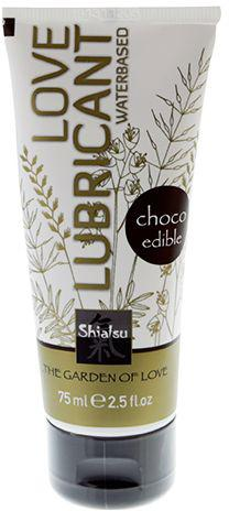 Оральный лубрикант Shiatsu Choco - шоколад, 75 мл