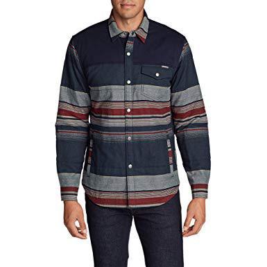 Рубашка Eddie Bauer Men Overlook Shirt Jac (Цвет 130)