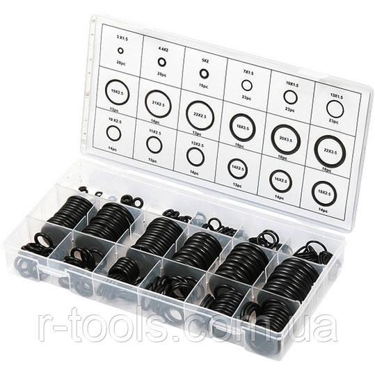 Набор резиновых уплотнительных прокладок D 3 - 23 мм 279 предм Сибртех 47598