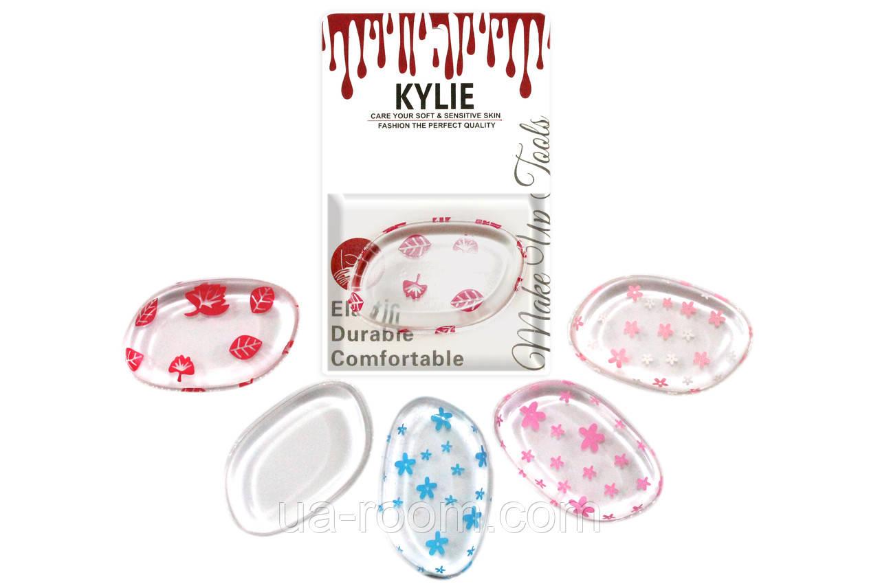 Спонж для макияжа силиконовый Kylie