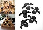 Топпер овечки 10 шт с клейкой основой