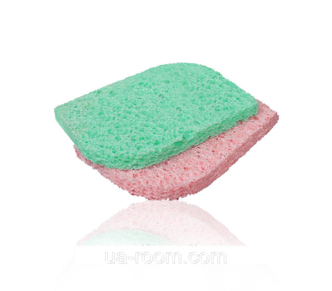 Спонж-губка для очищения кожи Lily (н-р 2 шт) LC-008
