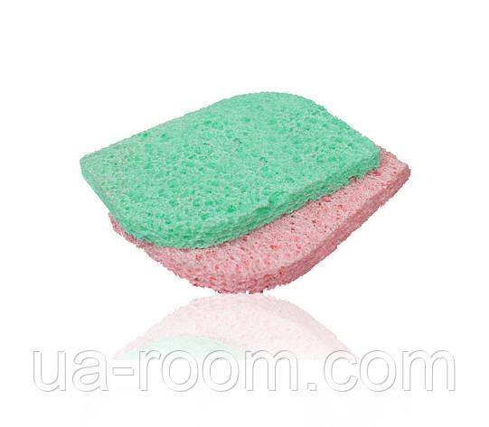 Спонж-губка для очищения кожи Lily (н-р 2 шт) LC-008, фото 2