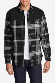Рубашка Eddie Bauer Men Overlook Shirt Jac BLACK