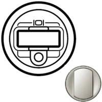 Лицевая панель - Программа Celiane - розетка аудио/видео HD15 + Jack 3,5 мм Кат. № 0 673 19 - титан