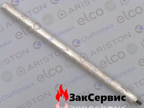Анод магниевый М8 D21х1000х10 для газового бойлера Ariston SGA 200 R 291087