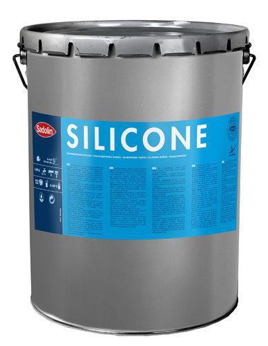 Силиконовая краска SILICONE Sadolin, M-15, 14,25 л