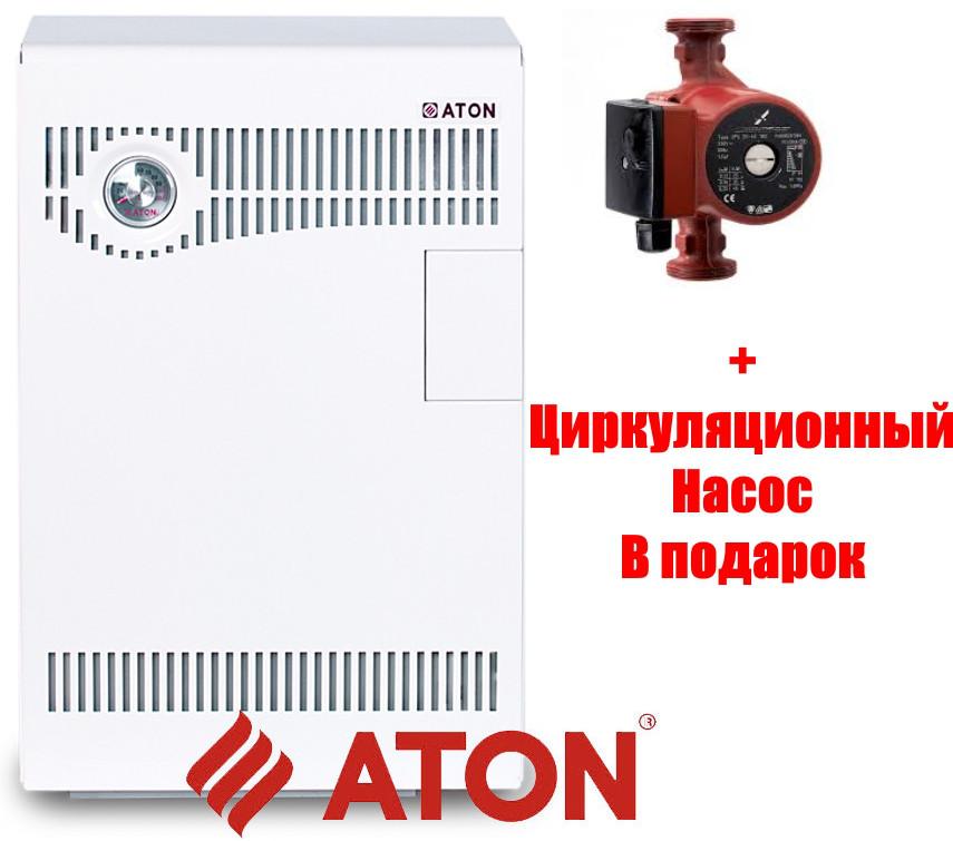 Котел газовый напольный Атон Compact-12,5 E Парапетный, SIT 630 Италия
