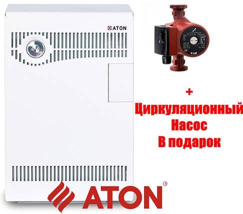Котел газовый напольный Атон Compact-12,5 E Парапетный, SIT 630 Италия, фото 2