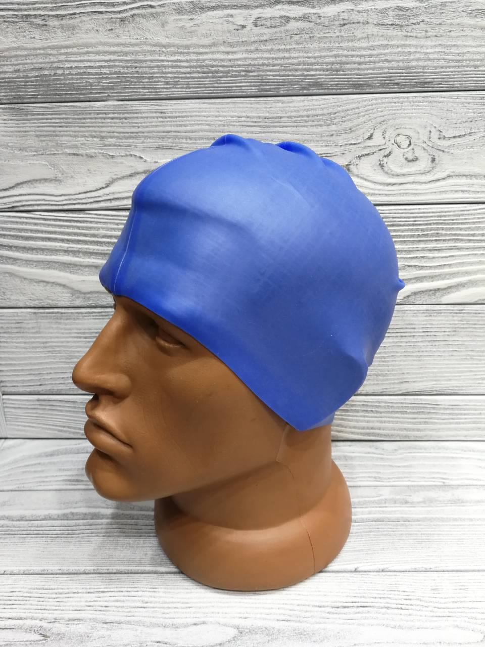 Шапочка для плавания Grilonq синяя