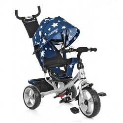 Трехколесный велосипед детский Turbo Trike M 3113A-S11 Blue Stars
