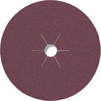 Фибровые круги фибра CS 561 Klingspor для обработки стали и цветных металлов, дерева диаметр 180 мм р24