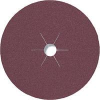 Фибровые круги фибра CS 561 Klingspor для обработки стали и цветных металлов, дерева диаметр 180 мм р36