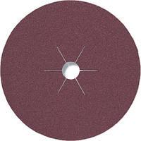 Фибровые круги фибра CS 561 Klingspor для обработки стали и цветных металлов, дерева диаметр 180 мм р60
