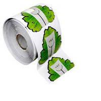 """Формы для наращивания ногтей """"Зеленый листок"""", 250 шт."""