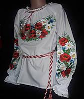 Блуза вышитая для девочки в Украине. Сравнить цены 8480ae190f0af