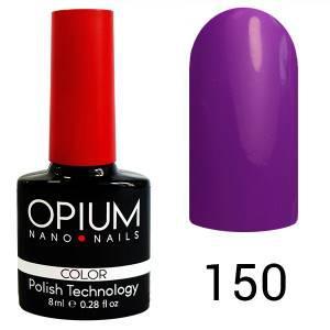 Гель лак Opium № 150 яскраво-сливовий 8 мл