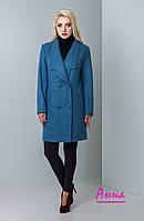 Прямое демисезонное женское пальто в расцветках 640287, фото 1